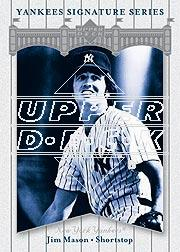 2003 Upper Deck Yankees Signature #42 Jim Mason