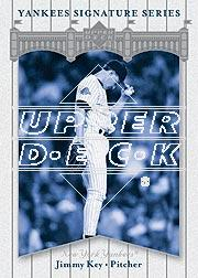 2003 Upper Deck Yankees Signature #43 Jimmy Key