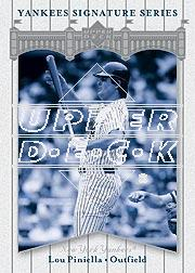 2003 Upper Deck Yankees Signature #55 Lou Piniella