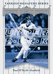 2003 Upper Deck Yankees Signature #64 Paul O'Neill