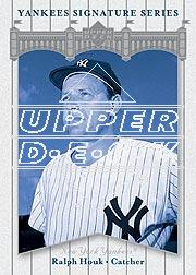 2003 Upper Deck Yankees Signature #68 Ralph Houk