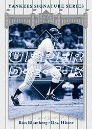 2003 Upper Deck Yankees Signature #72 Ron Blomberg