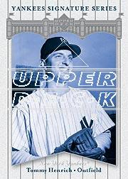 2003 Upper Deck Yankees Signature #82 Tommy Henrich