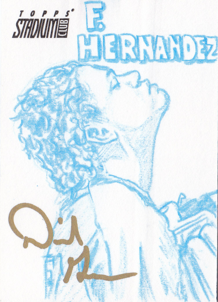 2008 Stadium Club Sketches #89 Felix Hernandez