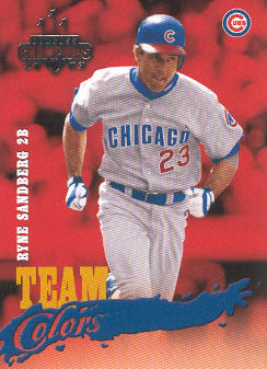 2003 Donruss Champions Team Colors #5 Ryne Sandberg