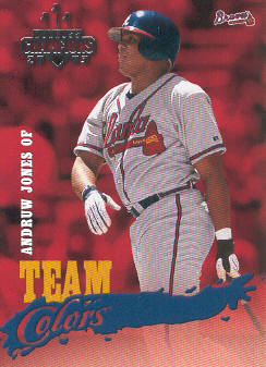 2003 Donruss Champions Team Colors #20 Andruw Jones