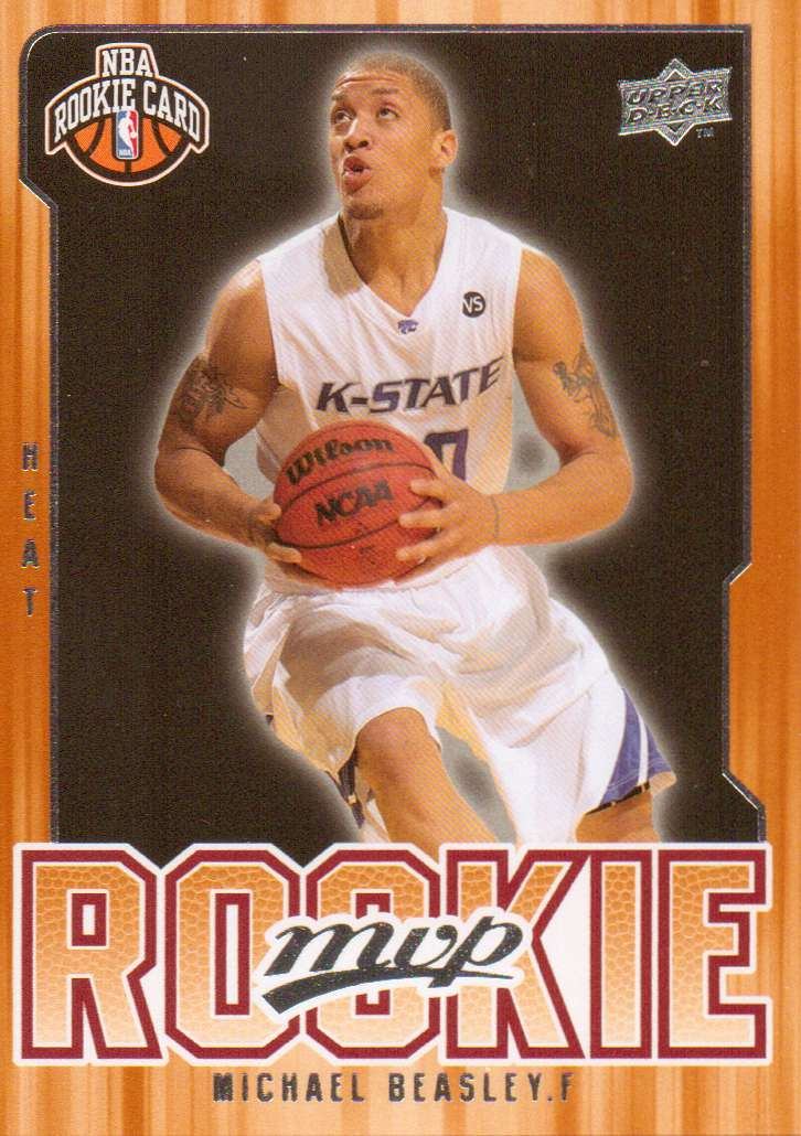 2008-09 Upper Deck MVP #202 Michael Beasley RC