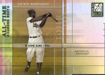 2003 Donruss Elite All-Time Career Best #3 Jackie Robinson