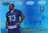 2002 Bowman's Best Blue #132 Dwight Freeney AU