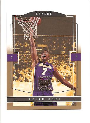 2003-04 SkyBox LE Gold Proofs #130 Brian Cook