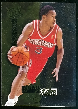 1996-97 Ultra Give and Take #4 Allen Iverson