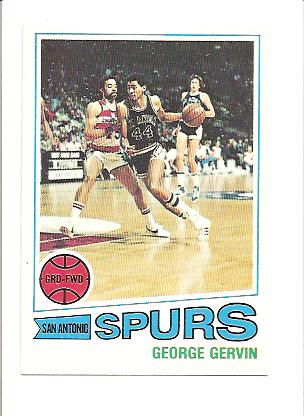 1977-78 Topps #73 George Gervin