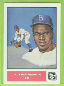 1984-85 Sports Design Products West #1 Jackie Robinson