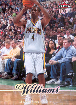 2007-08 Ultra SE #73 Shawne Williams front image