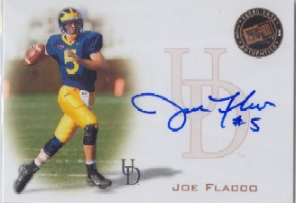 2008 Press Pass Autographs Bronze #PPSJF Joe Flacco