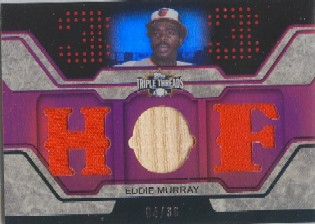 2008 Topps Triple Threads Relics #67 Eddie Murray