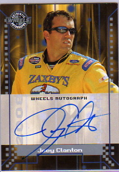 2008 Wheels Autographs #8 Joey Clanton CTS HG