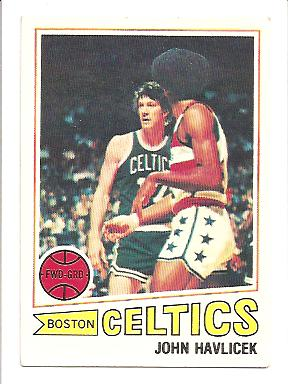 1977-78 Topps #70 John Havlicek