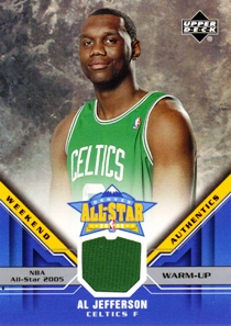 2005-06 Upper Deck All-Star Weekend Authentics #AL Al Jefferson