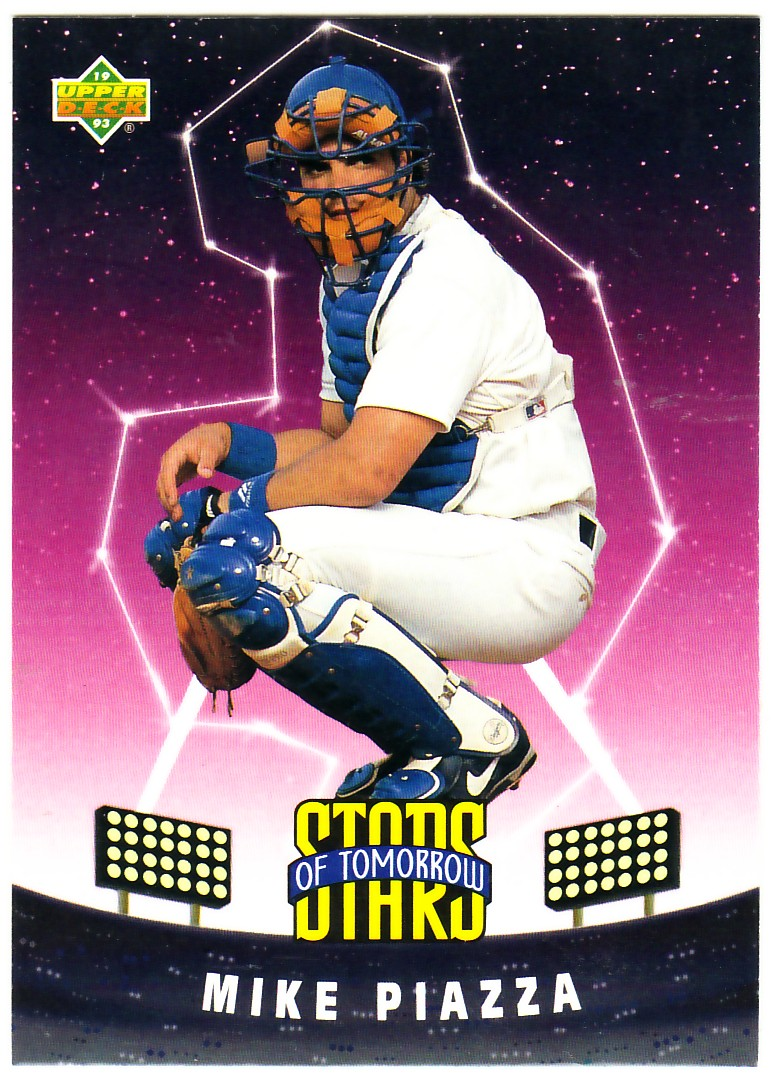 1993 Fun Pack #6 Mike Piazza