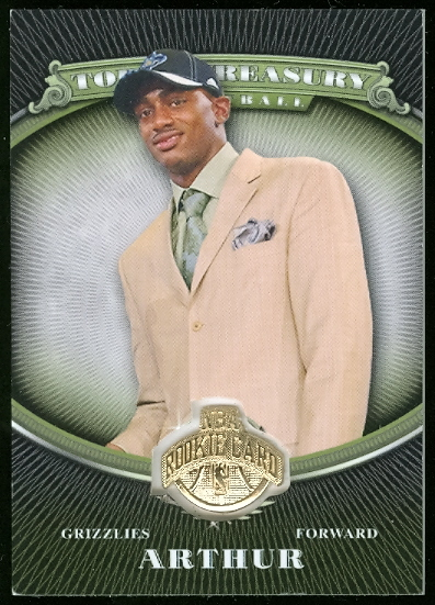 2008-09 Topps Treasury Rookie Medallions #DA Darrell Arthur