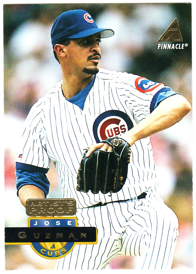 1994 Pinnacle Artist's Proofs #55 Jose Guzman