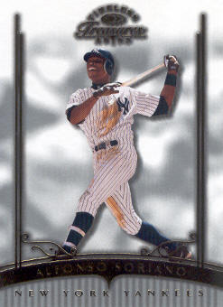2003 Timeless Treasures #6 Alfonso Soriano