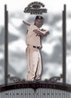 2003 Timeless Treasures #25 Eddie Mathews