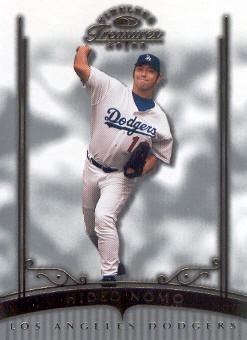 2003 Timeless Treasures #34 Hideo Nomo