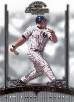 2003 Timeless Treasures #38 Jason Giambi