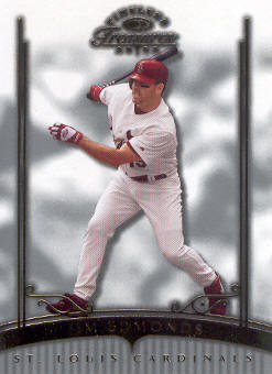 2003 Timeless Treasures #40 Jim Edmonds