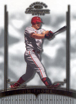 2003 Timeless Treasures #42 Jim Thome