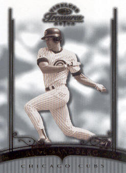 2003 Timeless Treasures #81 Ryne Sandberg