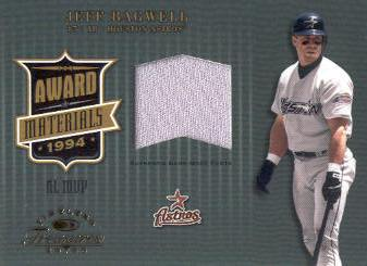 2003 Timeless Treasures Award #8 Jeff Bagwell Pants/100