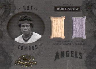 2003 Timeless Treasures HOF Combos #11 Rod Carew Bat-Jsy/100