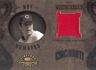 2003 Timeless Treasures HOF Numbers #46 Tom Seaver/35