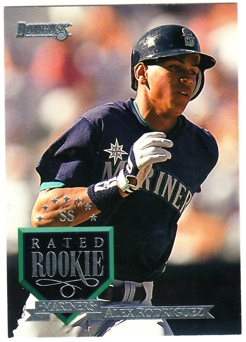 1995 Donruss #114 Alex Rodriguez