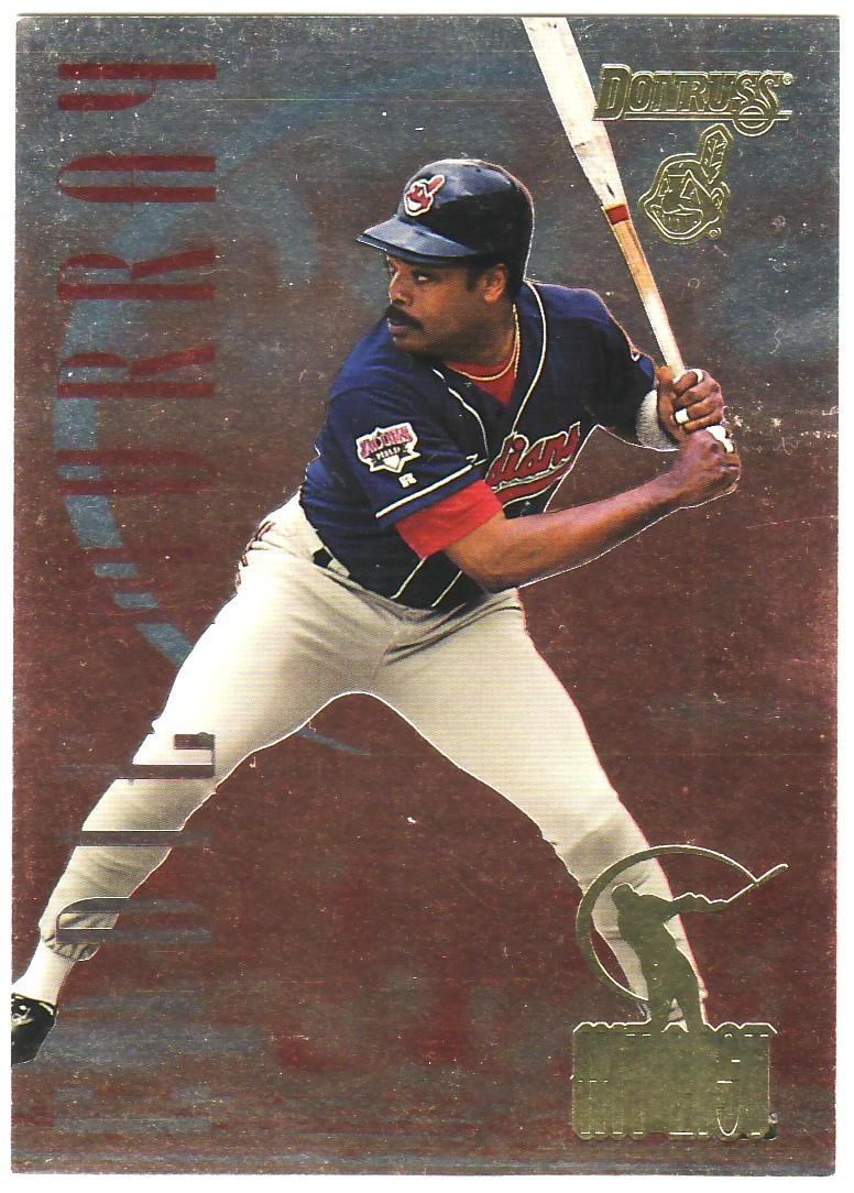 1996 Donruss Hit List #16 Eddie Murray