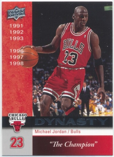 2008-09 Upper Deck Bulls Dynasty #CHI11 Michael Jordan
