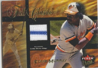 2002 Ultra Fall Classic Memorabilia #23 Eddie Murray Jsy/91 *