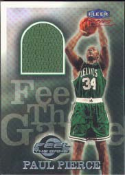 1999-00 Fleer Focus Feel the Game Paul Pierce