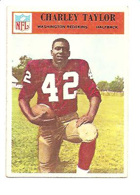 1966 Philadelphia #194 Charley Taylor