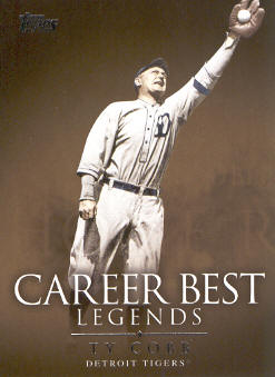 2009 Topps Legends of the Game Career Best #TC Ty Cobb