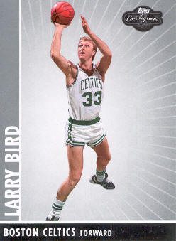 2008-09 Topps Co-Signers #93 Larry Bird