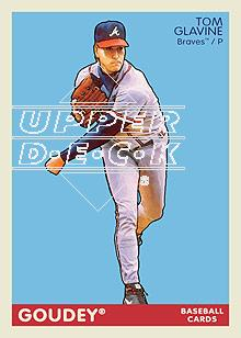 2009 Upper Deck Goudey #11 Tom Glavine