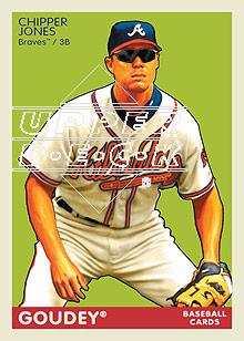 2009 Upper Deck Goudey #13 Chipper Jones