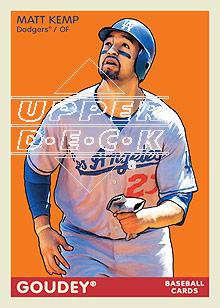 2009 Upper Deck Goudey #96 Matt Kemp