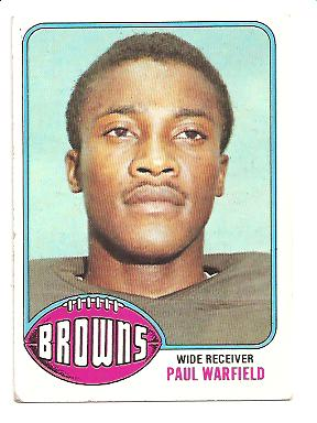 1976 Topps #317 Paul Warfield