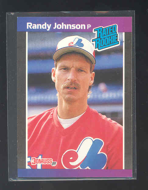 1989 Donruss #42 Randy Johnson RC