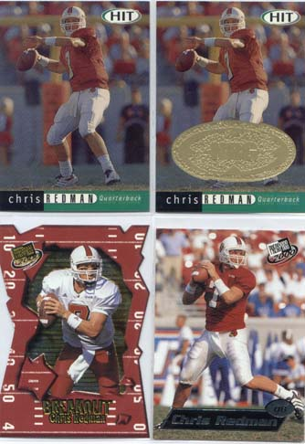 Chris Redman, 2000 Sage Hit NRG Card #7
